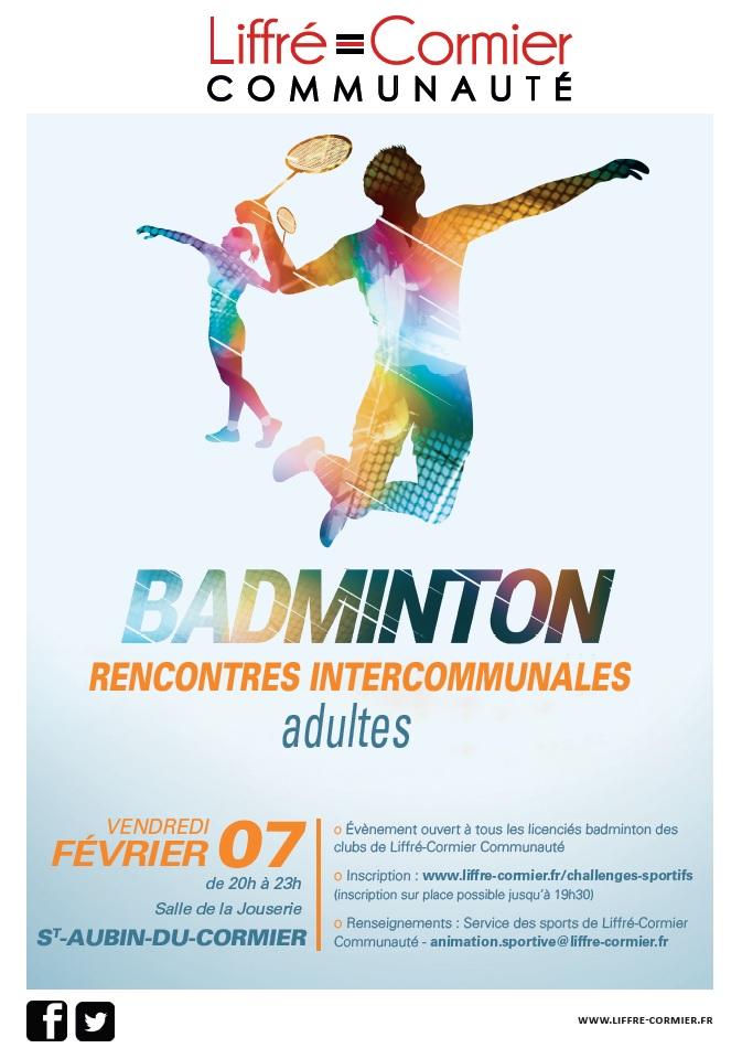 4èmes Rencontres Intercommunales Badminton Liffré-Cormier