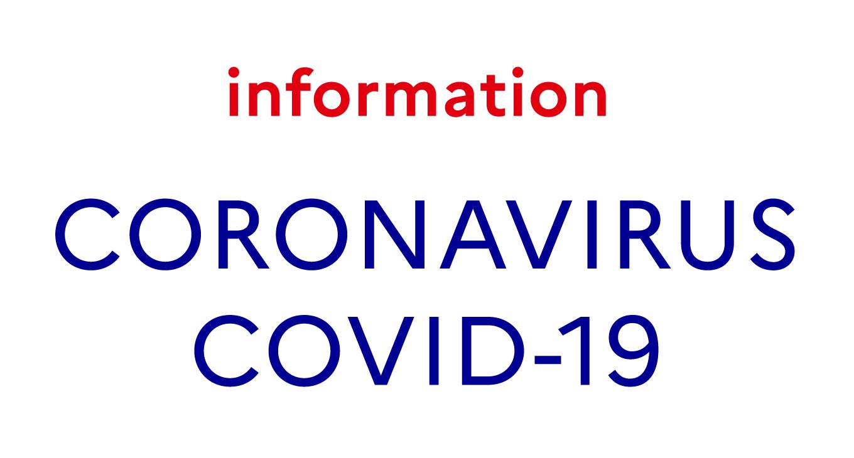 [Coronavirus] Fermeture de la salle