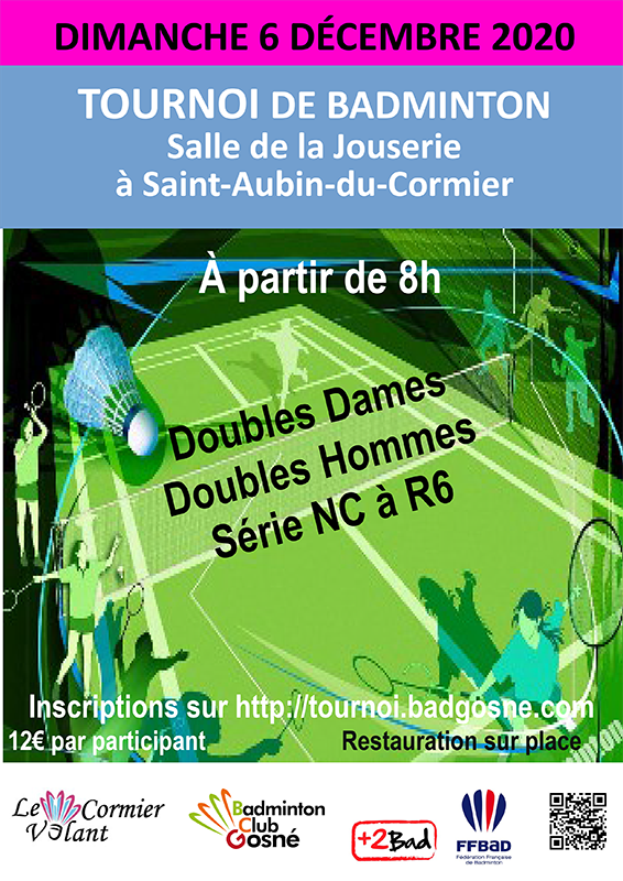 Tournoi double adultes / 5ème édition
